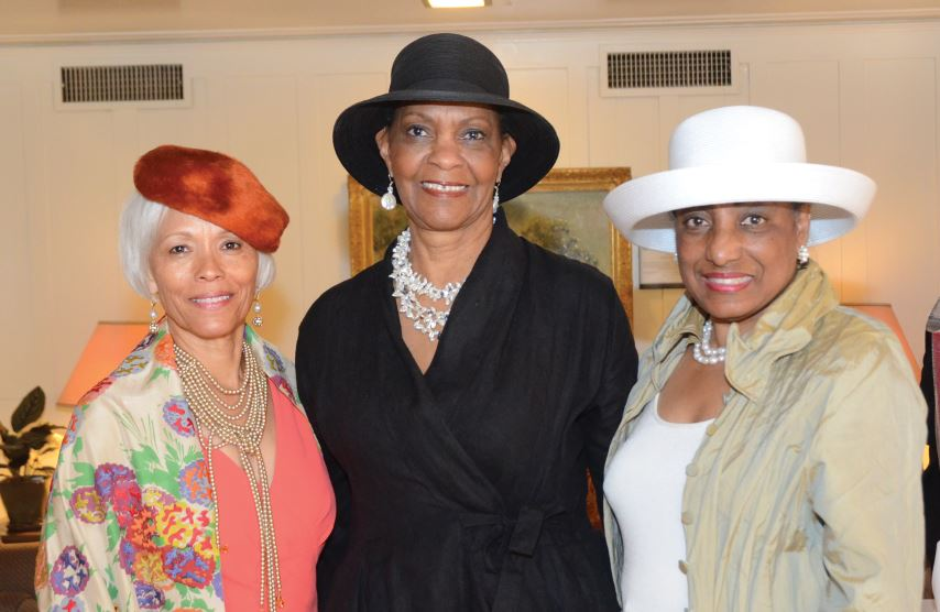 "Photo by Carin Yates / OUTLOOK Brenda Galloway, Faye Davidson and Gerri Edson attended last year's ""Hat-ti-tude"" fundraiser to benefit the Pasadena-Altadena Community Endowment Fun. This year's event will be held Saturday, April 16."