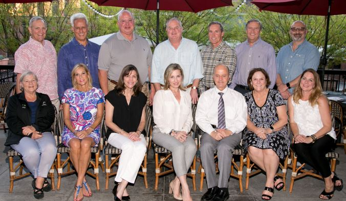 Photo courtesy Alma de la Rosa Poker Bowl participants include (front row, from left) Joan Wood, Jane MacKinnon, Patricia Ostiller, Cathy Heflin, Bill Ukropina, CSC Executive Director Meg Symes and CSC Event Coordinator Danielle Gay. Back: Charlie Wood, Bill Young, Ken Russak, John Symes, Marc Wax, Michel Healy and Roy Antoun. Not pictured: Susie Aguirre, Dennis Alfieri, David Balfour, Elita Balfour, John Barger, Karen Beardsley, Janet Braun, Jay Cervenka, Michel Doney, Todd Doney, Ellen Driscoll, Marlene Evans, Peggy Flynn, John Flynn, Kevin Heintz, Meshell Holdo, Clay Marquardt, Julie McCarty, Tom Mills, Chris Morphy, Julie Nesbit, Scott Nesbit, Diana Rafeedie-Nofal, Marilyn O'Toole, Grace Russak, Marsha Schwizer, Steve Silk, Sue Silk, Lisa Sloan, Tim Sloan, Brad Talt, Susie Talt, Sean Townley, Linan Ukropina, Lauri Wax and Vance Weisbruch.