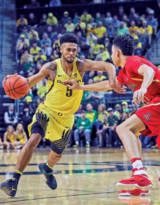 Photo courtesy Eric Evans After a stellar sophomore campaign at the Oregon, Tyler Dorsey was drafted in the second round (41st overall pick) by the Atlanta Hawks.