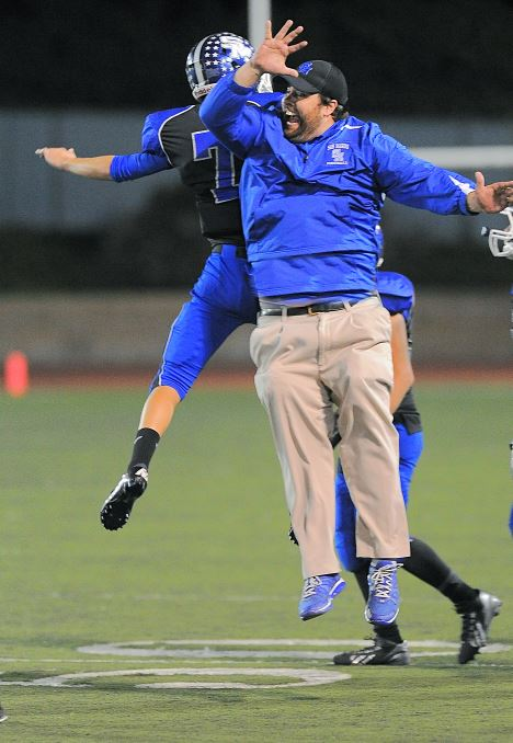 Photo by Raymond Quan / OUTLOOK Dave Avramovich, the new Greater Los Angeles regional director for Young Life, has spent much of the last decade as the organization's San Marino area director and also moonlighting as a football and baseball assistant coach at San Marino High School.