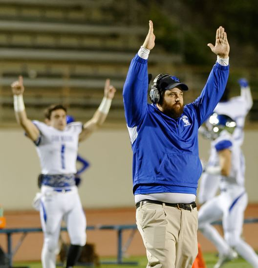 Photo by Raymond Quan / OUTLOOK Dave Avramovich, who has dedicated the past decade to the Young Life organization, made a name for himself as an assistant football coach for the San Marino High School Titans.