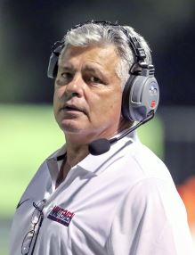 Photo courtesy David Thomas Steve Bogan resigned as Maranatha High School head football coach last week. He guided the Minutemen to a 27-17-1 record in four seasons.