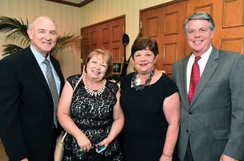 Photo by Carin Yates / OUTLOOK David and Mary Sue Scheidler were joined by Janet and Jack Orswell at a previous Elizabeth House Gala. This year's event is being held on Saturday, April 28.