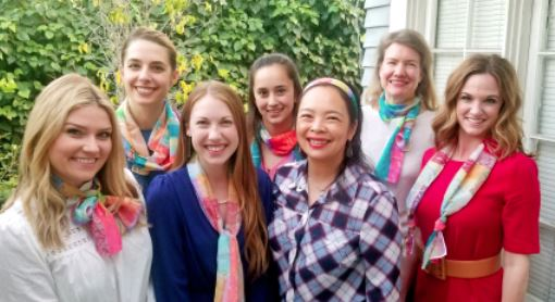 Photo courtesy Junior League of Pasadena Junior League of Pasadena fundraising committee members include (front row, from left) Mackenzie Reed Mize, Anjali Daniels, Susanna Kwan and Kim Kilpatrick. Back: Ariana Wall, Toni Gutierrez and Cynthia Bradley. Not pictured: Anna Agadjanyan, Katie Hunt, Julia Johnson, Vanessa Jones, Joy Kushner and Christine Tam.