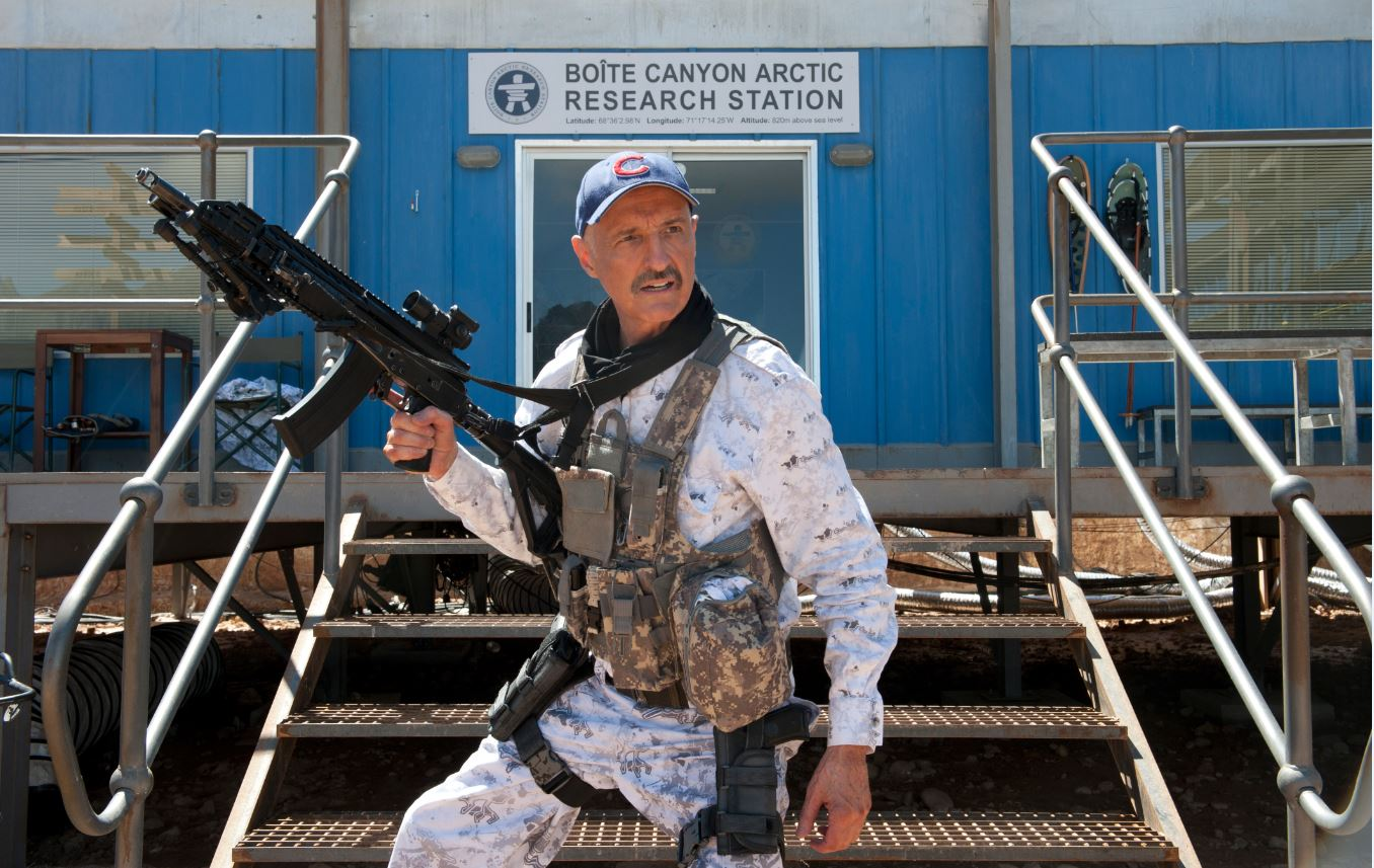 "Photo courtesy Universal Pictures La Cañada Flintridge resident Michael Gross stars in ""Tremors: A Cold Day in Hell,"" the sixth film in the franchise, due for release May 1. He has embraced his fan-favorite character, who is a supporting or lead character in every film in the franchise as well as the TV series."