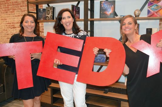"Dawn Moore, Heather Brunold and Rebecca Haussling have announced this year's TEDxPasadena theme, ""Transform."""