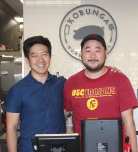 Photo by Sahale Greenwood / OUTLOOK Kobunga founder and CEO John Kim and chef and COO Stephen Cho