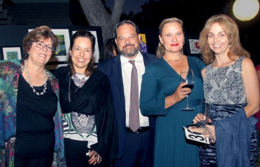 "Photo by Larissa Althouse / OUTLOOK Diane Danis, Mona Delahooke, Mark and Eva Woodsmall, and Amy Johnson were among those who attended last year's ""Harvest Moon Magic"" gala. This year's fundraiser will be held Sunday evening, Sept. 30."