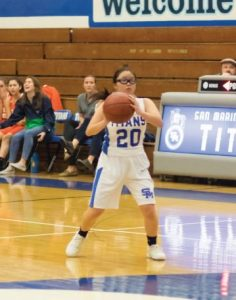 Photo courtesy Eric Danielson Freshman Elaina Lee is one of San Marino's most consistent players on offense. The Titans will resume play this weekend in the Vista Tri-City tourney.