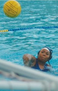 Outlook Photo The San Marino High School varsity girls' water polo team is off to a good start with a 5-3 record.