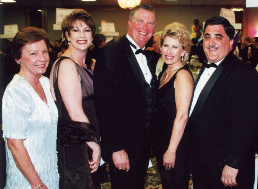 OUTLOOK file photo Enjoying the 2000 Spring Gala were Carole Siegler, Barbara Racklin, Mike and Nancy Leininger and Anthony Portantino.