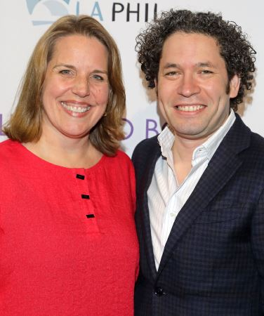 Photos courtesy Mathew Imaging  L.A. Philharmonic Executive Director Gail Samuel and Music and Artistic Director Gustavo Dudamel