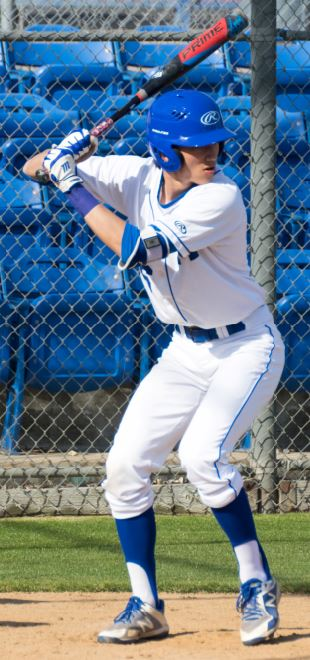 Grant Spitzer was 2-for-2 with one run and an RBI in the Titans' 8-4 victory over Temple City last week.