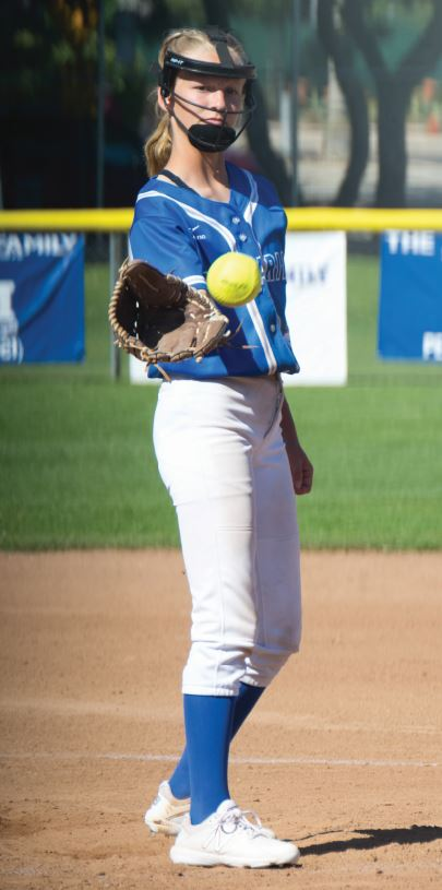 Photos courtesy Eric Danielson San Marino pitcher Claire Streeter picked up two CIF victories last week over United Christian Academy and Saddleback Valley Christian.
