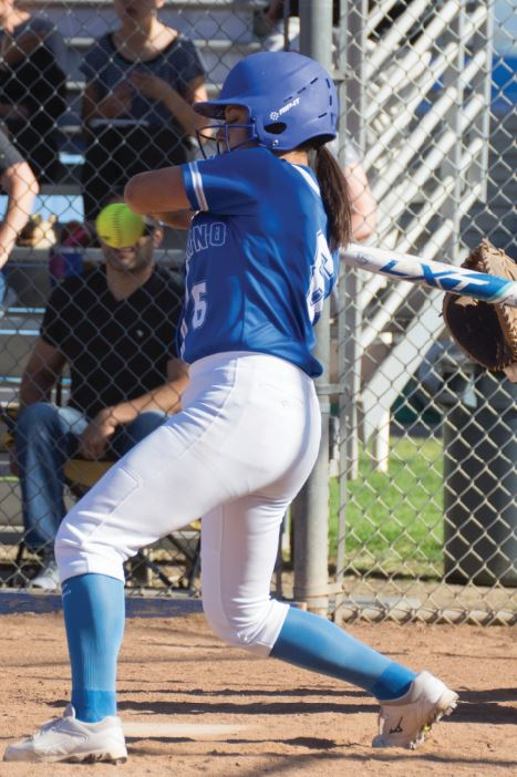 Jessica Van Fossan scored two runs in San Marino's 22-0 rout over Saddleback Valley Christian last week.
