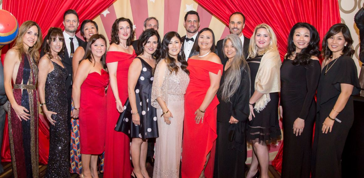 Photo courtesy LCFEF La Cañada Flintridge Educational Foundation 2019 Spring Gala Committee members included (front row, from left) Vanessa Terzian, Betsy Hall, Truc Moore, Karen Thurston, Gina Ricci, co-chairs Sunyoung Fahimi and Caroline Anderson, Arlene Fader, Jaime Hefner, Grace Mase and Julie Bae. Back: John Ibsen, Joyce Mayne, Chris Silber, Jason Scherbert and Tim Sheffield. Not pictured: Tracy Nelson and Jeff Parks.