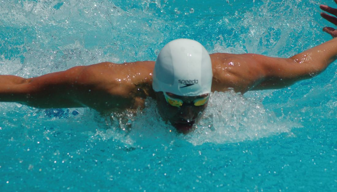 San Marino standout Tristan Lin won the 100-yard butterfly and breaststroke events.