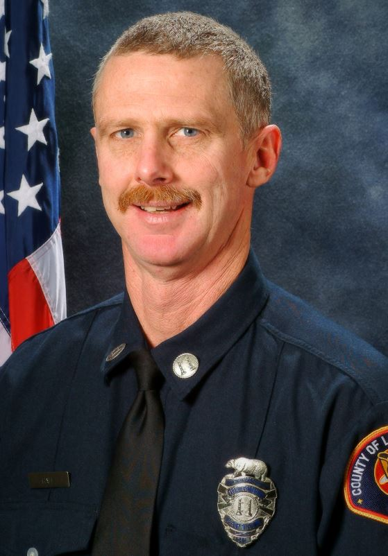 Fire Capt. Ted Hall