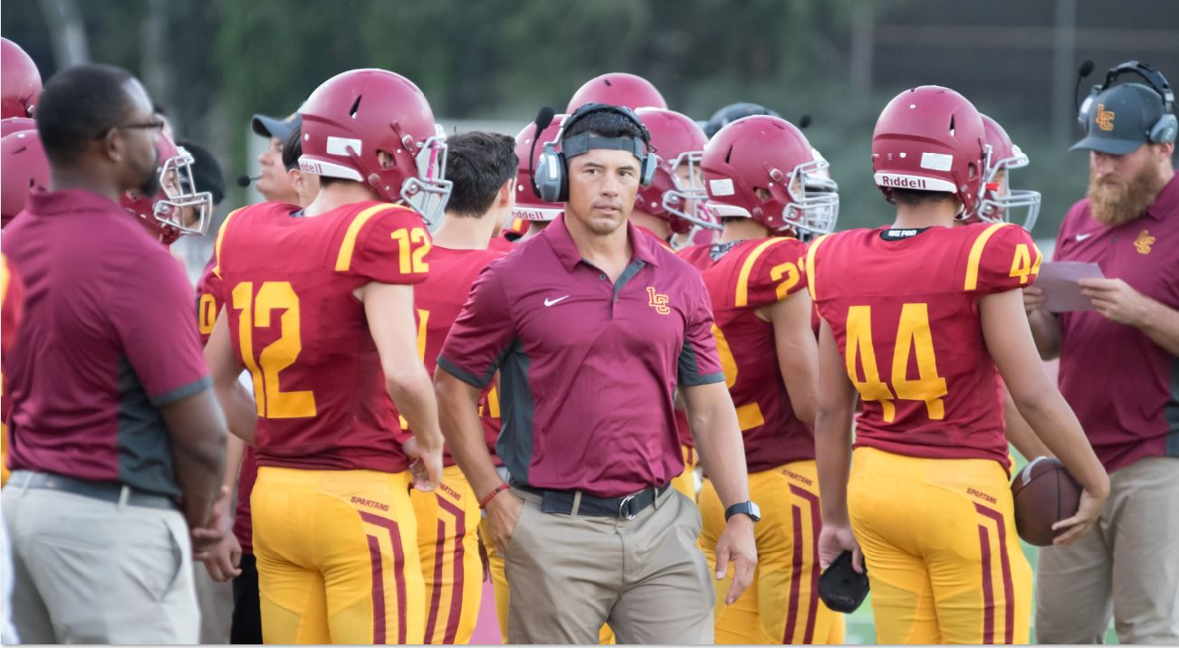 Jason Sarceda picked up his second win as La Cañada head coach with a 17-14 victory over Wilson last week.